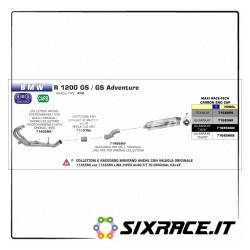 71466MI-31598 - Fitting for original collectors BMW R 1200 GS / Adventure 2010-2012 71466MI -