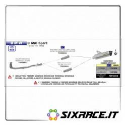 73009MI-33686 - BMW C 650 Sport center connector 2016-2018 73009MI -