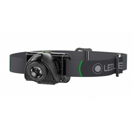 501503 - LED LENSER MH2 TORCIA FRONTALE SERIE OUTDOOR 100 lm, 100 metri, 40 ore, fuoco rapido, smart light technology -
