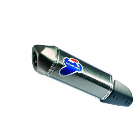 SILENZIATORE INOX CARBONIO DERBY RAMBLA 250 2009-2011