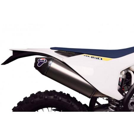 SILENZIATORE INOX TITANIO KTM 250-350-450 2018-2019