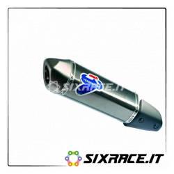 SILENZIATORE INOX CARBONIO PIAGGIO MP3 Hybrid 300-300 LT 2008-2014