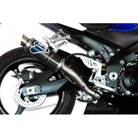 COPPIA SILENZIATORI GP STYLE INOX CARBONIO SUZUKI GSX-R 1000 2007-2008