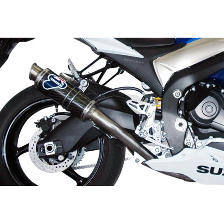 COPPIA SILENZIATORI GP STYLE INOX CARBONIO SUZUKI GSX-R 1000 2009-2011