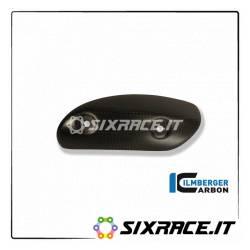 Protezione di scarico sul collettore di carbonio Ducati Diavel