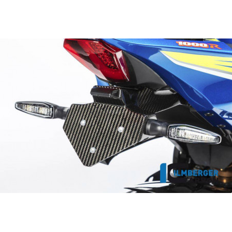 Porta targa Suzuki GSX R 1000 (2017)