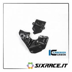 ZAL.004.P899G.K cover cinghia Ducati Panigale 899 destra carbonio opaco  ILMBERGER