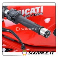 Stabilizzatori / tamponi manubrio for Renthal / LSL bars Ducati 848 08- / M