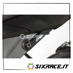 Placchette Copri Fori Poggiapiedi Posteriori (Lato Sinistro) Kawasaki Zx6-R 200