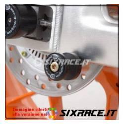 nottolini cavalletto posteriore per Honda CBR600 RR 07-13 bianco