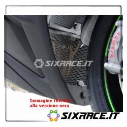 griglia protezione collettori scarico Kawasaki ZX10R 11-16 (da installare con R