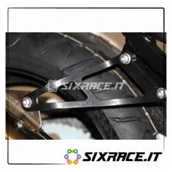Staffa Supporto Scarico - Honda Cbr900 02- Colore Nero