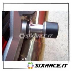 Tamponi Protezione Silenziatore Per Kawasaki Z1000 Fino A 06
