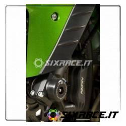 protezioni perno forcella anteriore ZX6 03- ZZR1400 06- GTR1400
