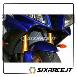 griglia Protezione Radiatore - Titanium - Yamaha R6 (06-12) R1 (07-08)