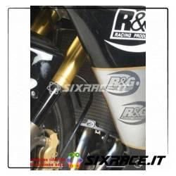 griglia Protezione Radiatore Titanium - Kawasaki Zx6R 07-12