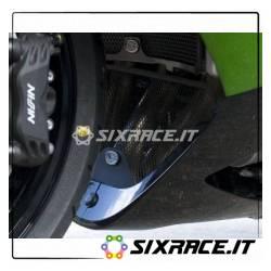 griglia protezione collettori scarico Kawasaki ZZR1400 06- (colore titanio)
