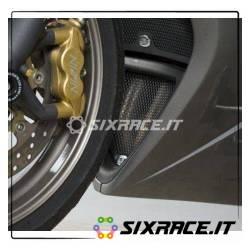 griglia protezione collettori scarico Triumph 675 Daytona 2006-2012