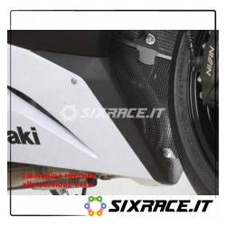griglia protezione collettori scarico Kawasaki ZX6R 13- (colore titanio)