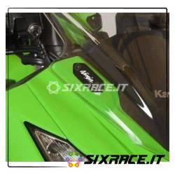 Placchette coprifori specchietti Kawasaki ZX6-R 13- / Ninja 300 / Ninja 250 1