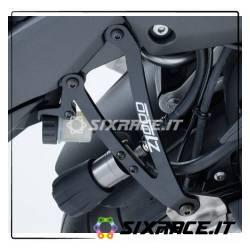 Staffa supporto scarico (coppia) Kawasaki Z1000SX 14- (no versione turing)