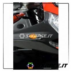Adattatori per minifrecce anteriori per APRILIA RS4 125 (minifrecce non incluse)