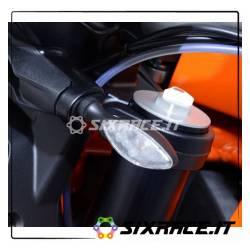 Adattatori per minifrecce anteriori per KTM 1290 Super Duke (minifrecce non incl