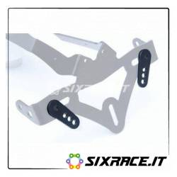 Piastrine universali montaggio / supporto targa