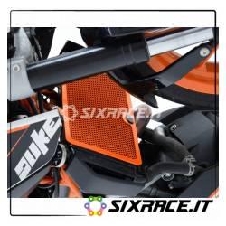 griglia protezione radiatore - KTM 390 Duke fino 16 / RC125/200/390 (arancio)