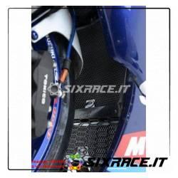 set griglia protezione radiatore e radiatore olio TITANIUM - Suzuki GSXR 1000 K5-