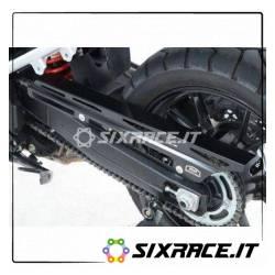 Paracatena in alluminio Suzuki 1000 V-Strom 14- colore nero