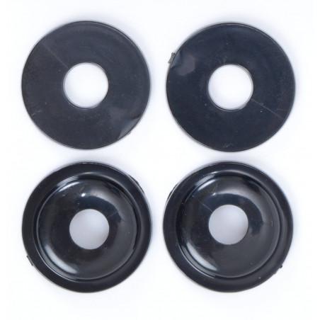 adattatori per minifrecce (set da 4) universali - tipo rotondo