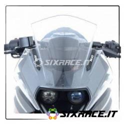Placchette coprifori specchietti KTM RC125/200/390