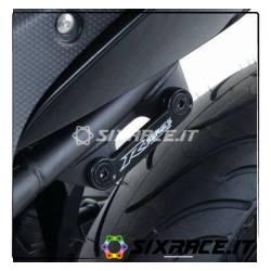 Placchette copri fori poggiapiedi posteriori (lato SX) Yamaha YZF-R25 / R3