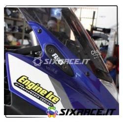 Placchette coprifori specchietti Yamaha YZF-R25 / YZF-R3