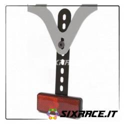 Kit estensione supporto catadiottro standard 30mm x 85mm E-marked (per portata