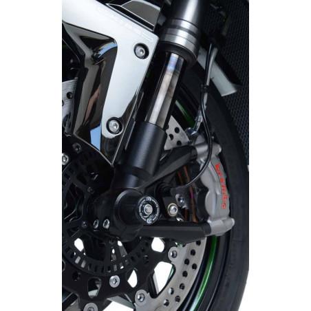 protezioni perno forcella anteriore Kawasaki H2 / H2R