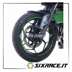 Rayures RG pour cercles - vert