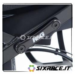 Placchette copri fori poggiapiedi posteriori (singolo ord.2 x moto) BMW S1000X