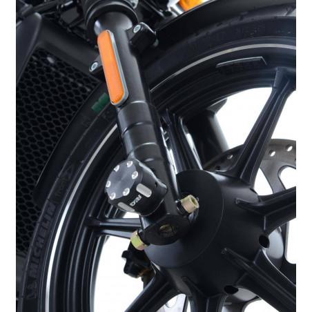 protezioni perno forcella anteriore Harley Davidson Street 500/750