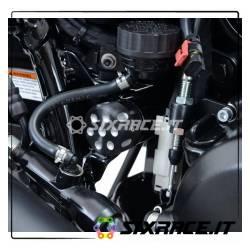 Cornice portatarga / protezione cinghia Harley-Davidson Street 500/750 - lato de