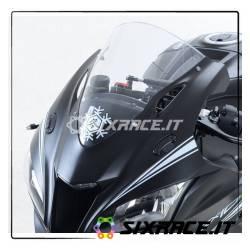 Placchette coprifori specchietti Kawasaki ZX10-R 16-