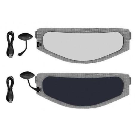Applicazione per visiere a oscuramento elettronico