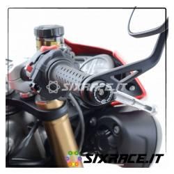 Stabilisateurs / coussinets de guidon Triumph Speed Triple S / R 16- / RS 18- / T