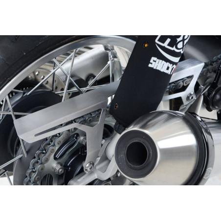 Paracatena in alluminio satinato Triumph Thruxton 1200/1200R