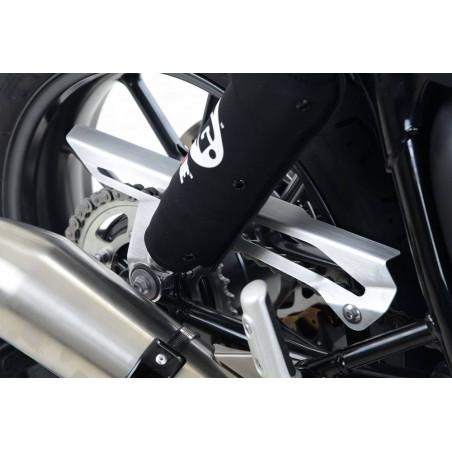 Paracatena in alluminio satinato Triumph Street Twin 900 / T120 Bonneville