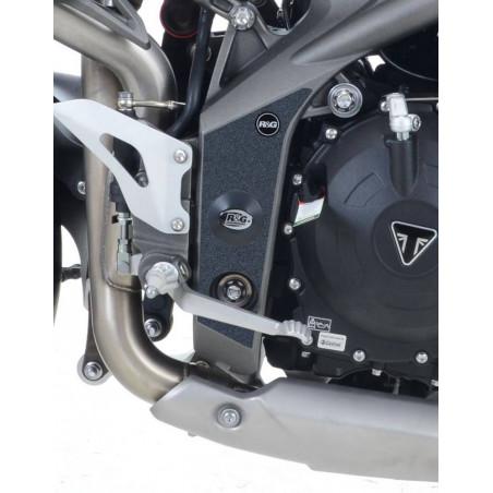 Kit 2pz.adesivi anti-scivolo paratacco Triumph Speed Triple 11-15 / Speed Trip
