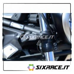 Adattatori per minifrecce anteriori per Kawasaki VULCAN S - alluminio (minifrecc