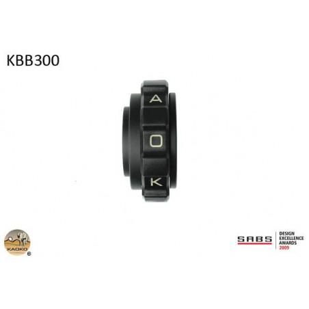 KAOKO stabilisateur de guidon avec régulateur de vitesse - Kawasaki ER6N ER6F ER5F Ni