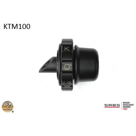 KAOKO Stabilisateur de guidon avec régulateur de vitesse - KTM 690 Duke / R 990 SD / R 6